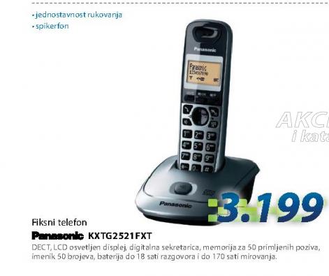 Fiksni telefon KX-TG2521FXT