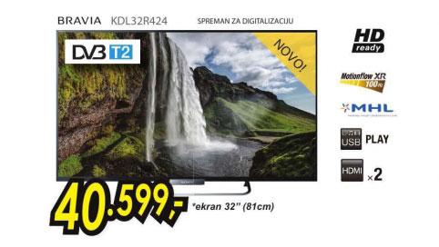 Televizor LED LCD KDL-32R424ABAEP