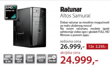Desktop računar Altos Samurai