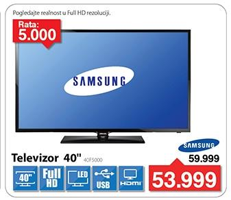 """Televizor LED 40"""" 40F5000"""