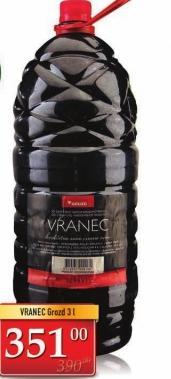 Crno vino Vranec