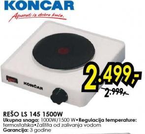 Električni Rešo ls 145 1500W