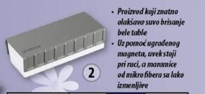 Sunđer za brisanje bele table