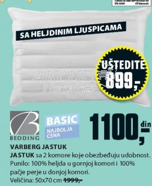 Jastuk Verberg