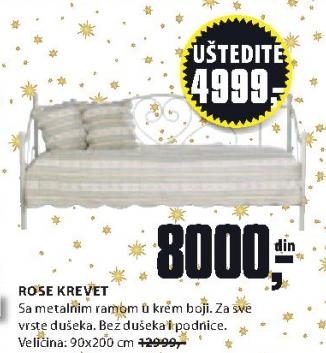 Krevet ROSE