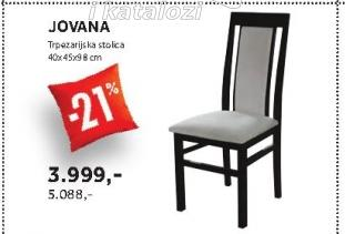 Trpezarijska stolica JOVANA