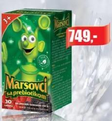 Marsovci sa probiotikom