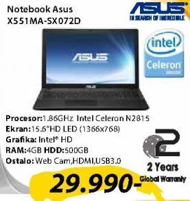 Laptop X551MA-SX072D