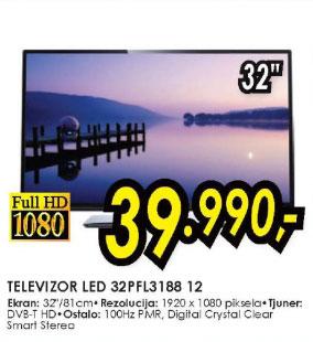 Televizor LED LCD 32PFL3188H/12