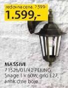 Baštenska lampa 71526/01/42 Peking