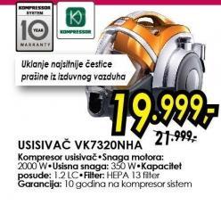 Usisivač VK7320NHA