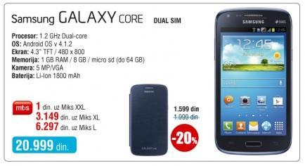 Mobilni telefon Galaxy Core