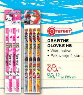 Grafitne olovke HB