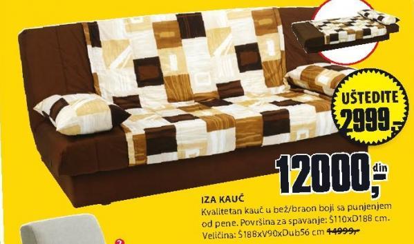 Kauč Iza