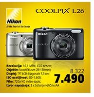Fotoaparat Coolpix L26