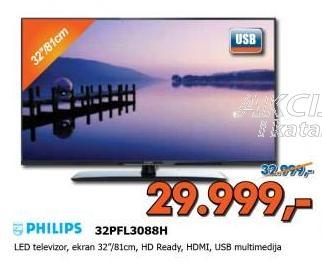"Televizor LED 32"" 32PFL3088"
