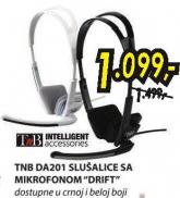 Slušalice sa mikrofonom DRIFT DA201