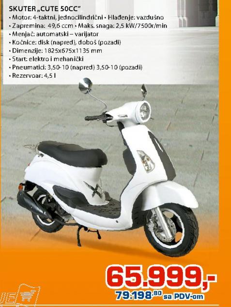 Skuter Hawk 2T 50cc