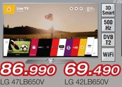 """Televizor LED 42"""" 42lb650v"""