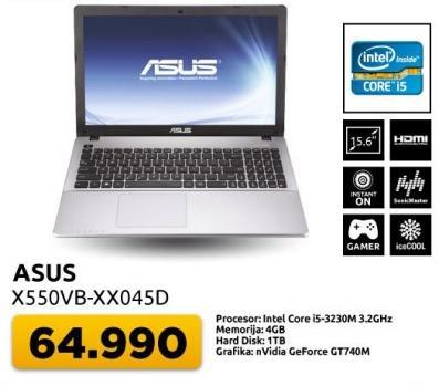 Laptop X550vb-xx045d