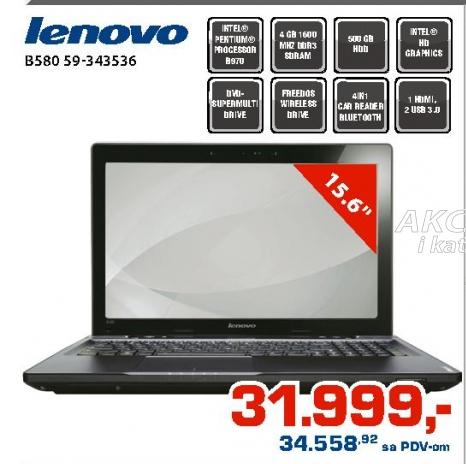 Laptop B580 59-343536