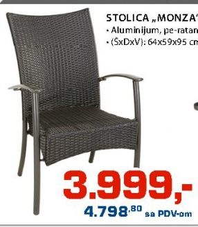 "Stolica ""Monza"""