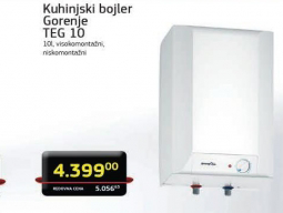Kuhinjski bojler TEG 10