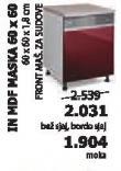 Kuhinjski element In Mdf Maska 60x60