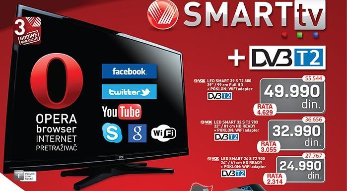 """Televizor TV 24"""" SMART LED 24ST2900"""