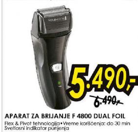 Aparat za brijanje F 4800 DUAL FOIL