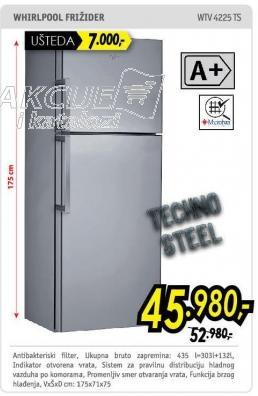 Kombinovani frižider Wtv4225ts