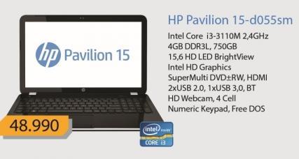 Laptop Pavilion 15-d055sm