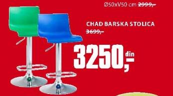 CHAD BARSKA STOLICA
