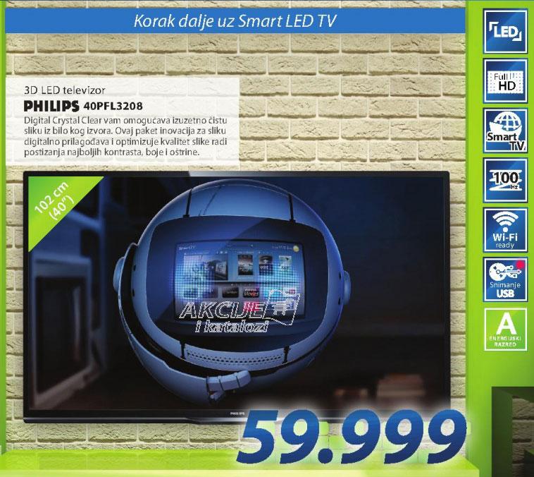 Televizor 40PFL3208H LED TV