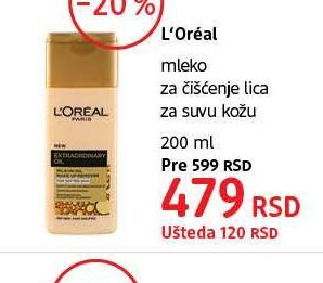 Losion za čišćenje lica Ideal fresh