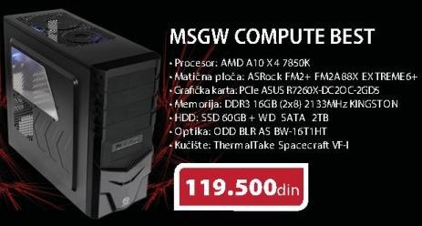 Računar MSGW Compute Best