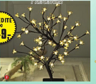 Bonsai svetleće drvo