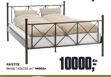 Ram za krevet Fayette