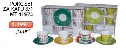 Porcelanski set za kafu 6/1 Mt 41973 Sigma