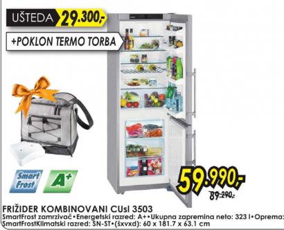 Frižider kombinovani CUsl 3503