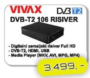 Risiver DVB-T2 106