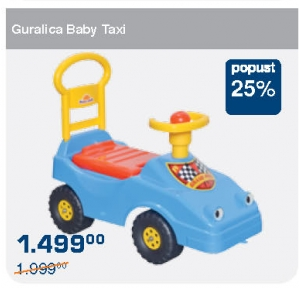 Guralica Baby taxi