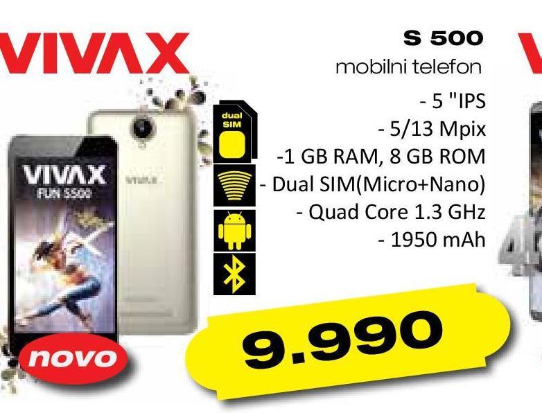 Mobilni telefon S500