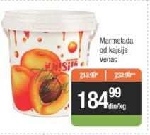 Marmelada kajsija - Venac