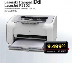 Laserjet pro P1102 štampač