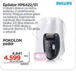 Epilator Hp 6422/01