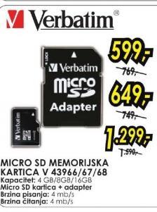 Micro SD memorijska kartica 43968