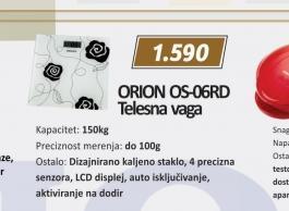 Telesna vaga OS-06RD