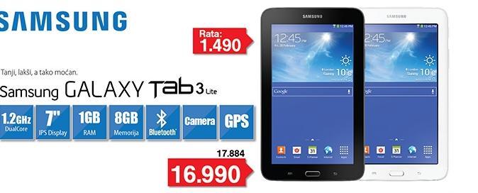 Tablet Galaxy Tab 3 SM-T110