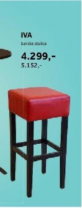 Barska stolica Iva